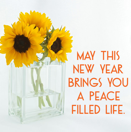 Happy New Year Flower DP