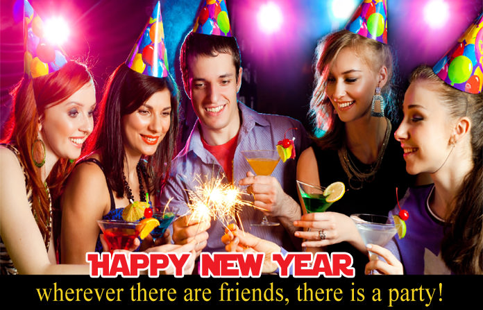 Happy New Year Friend