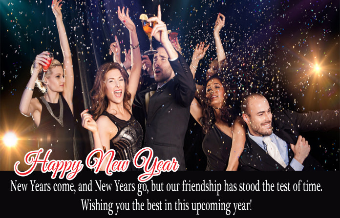 Happy New Year Messages for Friendship