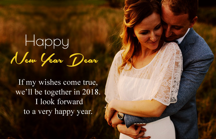 Happy New Year Messages for Lover