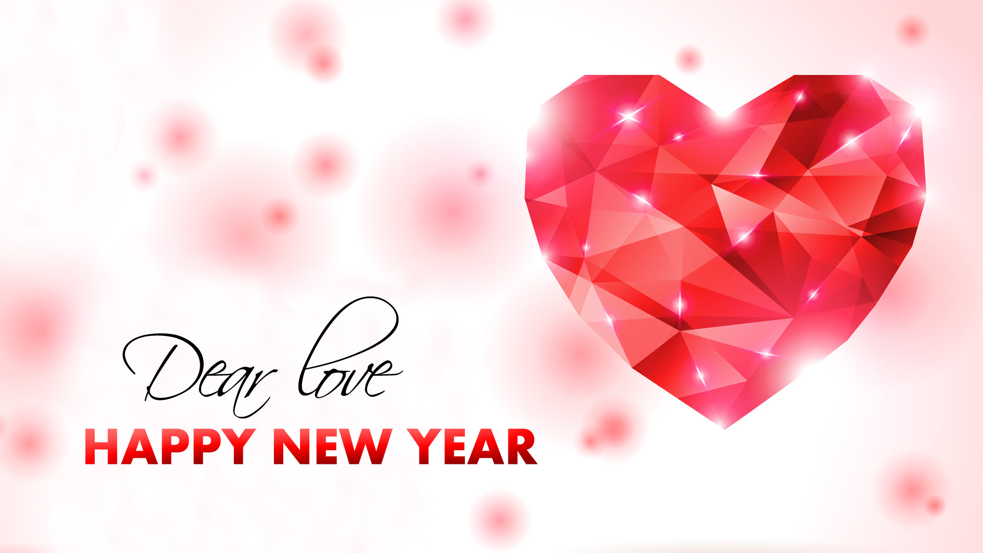 happy new year my love wallpaper