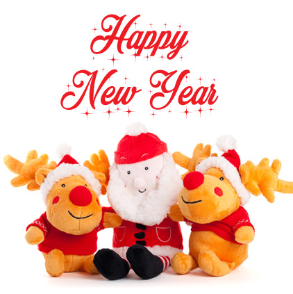 Happy New Year Santa Claus Profile Pictures