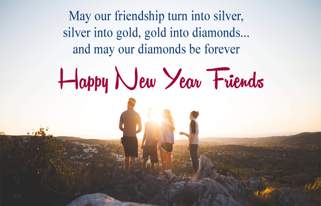 Happy New Year Wishes for Friends, 2018 Quotes Images for Best Friend