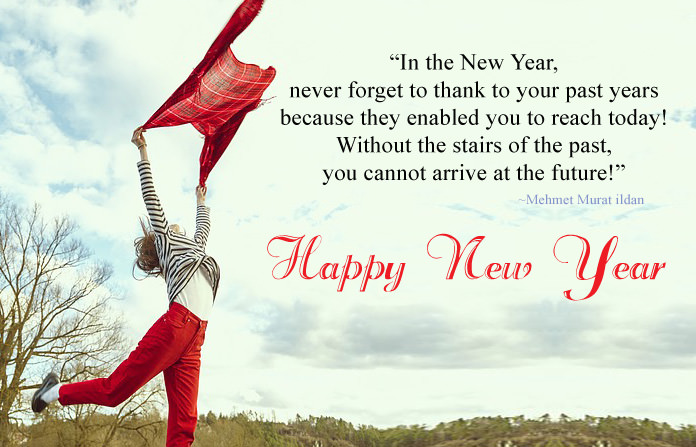 Inspirational New Year Quotations
