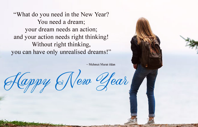 Inspirational New Year Images with Quotes, Positive Thoughts Messages