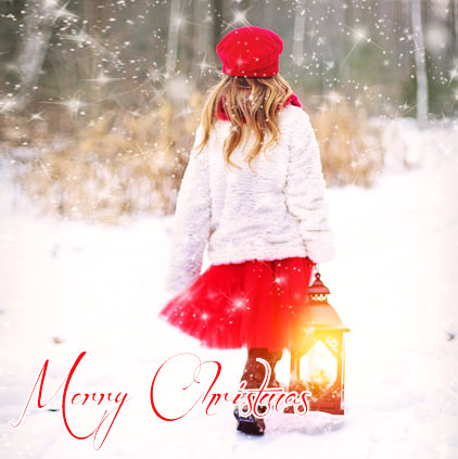Merry Christmas DP for Girls