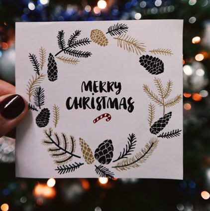 Merry Christmas Greeting Card DP