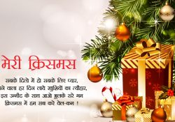 Merry Christmas Images in Hindi