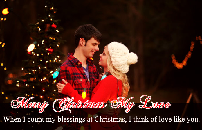 Merry Christmas My Love Wishes for Lover