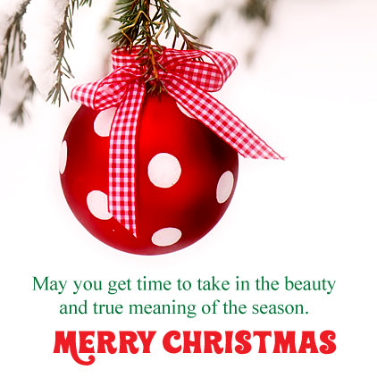 Merry Christmas Quotes DP Pic
