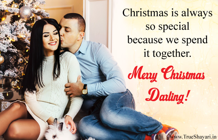 Merry Christmas Wishes Messages for Hot Girlfriend
