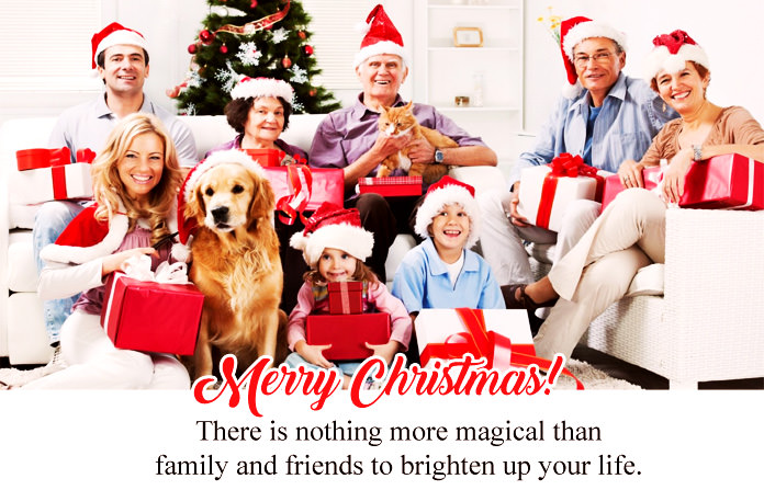 Merry Christmas Wishes for Friends and Family