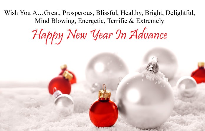 New Year 2018 Advance Quotes