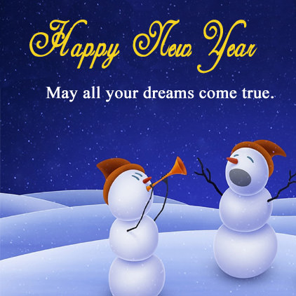 New Year Blessing Whatsapp Images in English