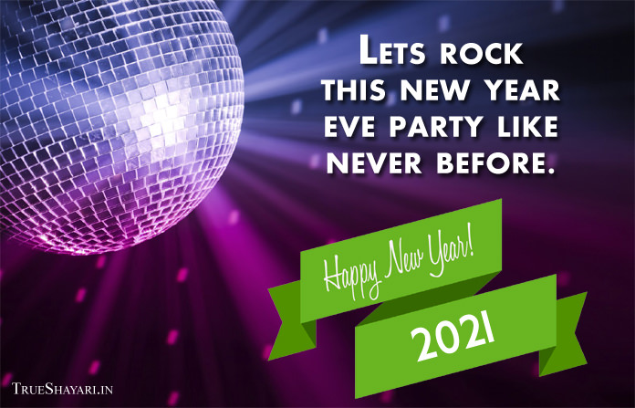 New Year Eve 2021 Status Quote