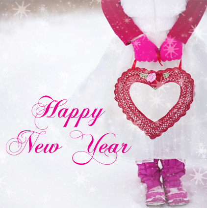 New Year Heart Images for Lover