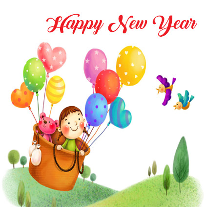 New Year Images for Kids