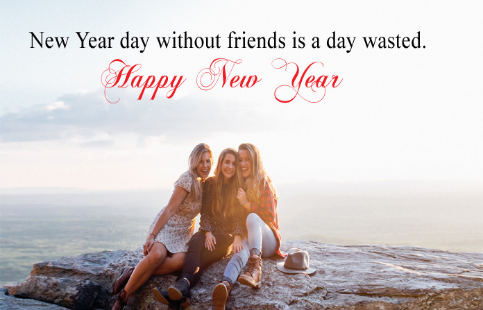 New Year Quotes for Best Friend