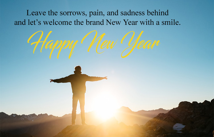New Year with Smile Quotes