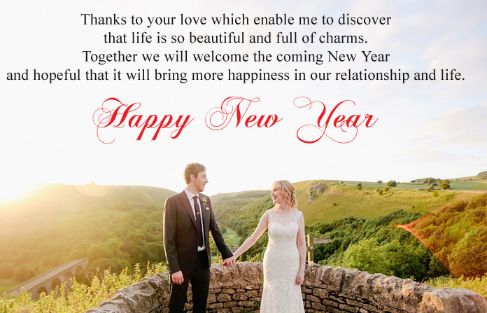 Romantic New Year Love Messages