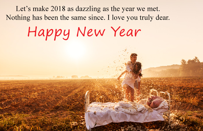 Romantic New Year Lover Images
