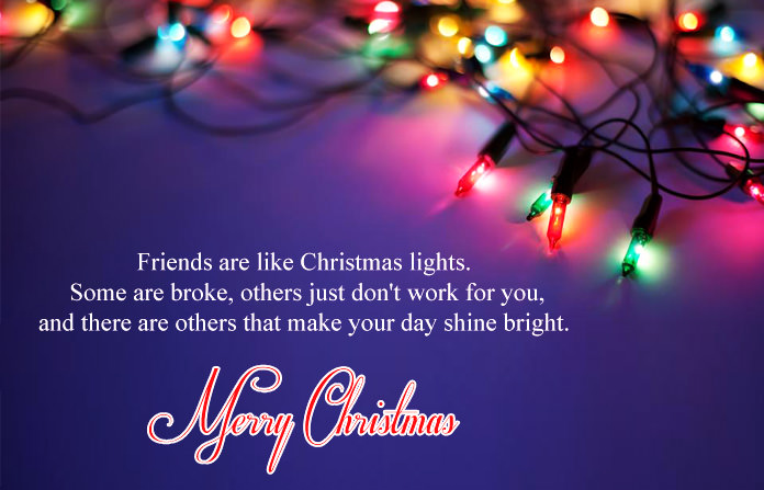 True Meaning of Friends Christmas Quotes