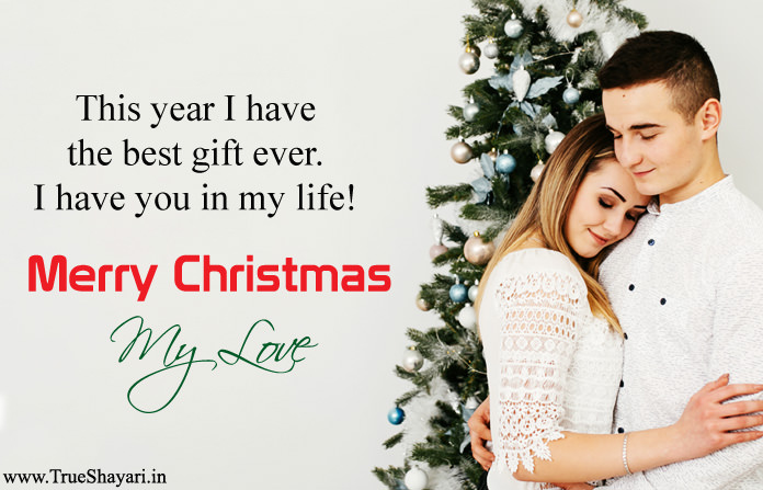 Xmas Love Sayings Images for GF
