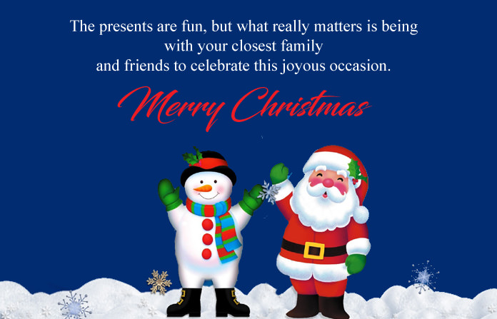 Xmas Messages for Friends Family Members