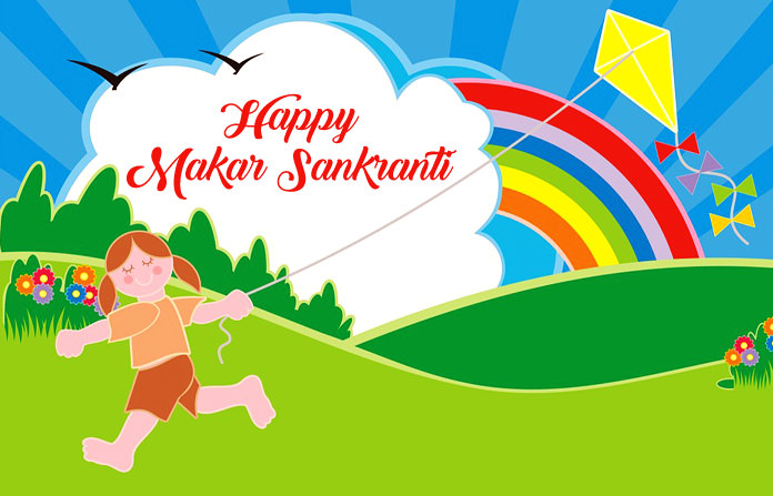 Cute Happy Makar Sankranti Images