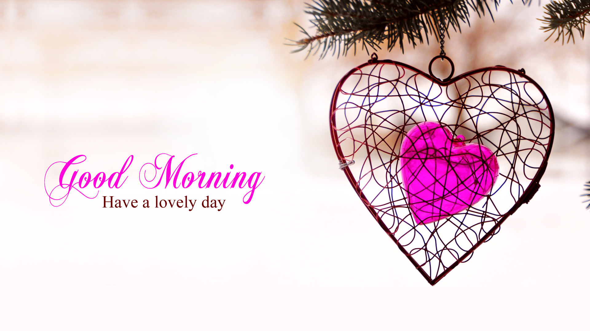 Gm Wallpaper In Love : Good Morning Wallpaper with Flowers, Full HD 1920x1080 GM Images