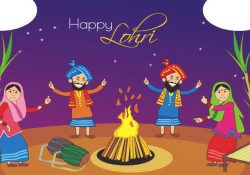 Happy Lohri Wallpaper for Punjabi
