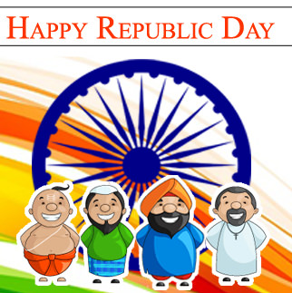 Happy Republic Day For All Religion
