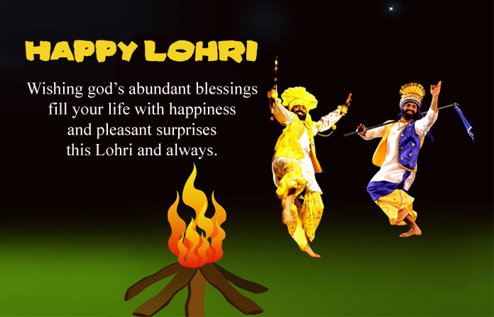 Punjabi Lohri Wishes Messages Pics