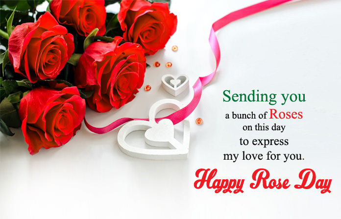 Rose Images with Love Messages