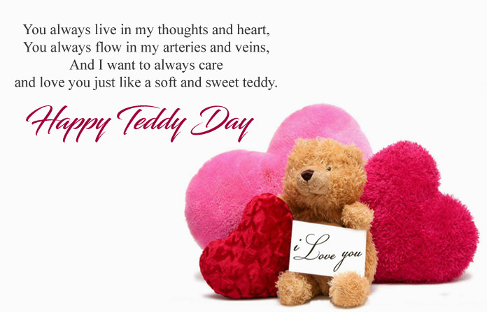 10th Feb Teddy Day Images