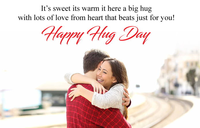 12th Feb Hug Day Images for BF GF