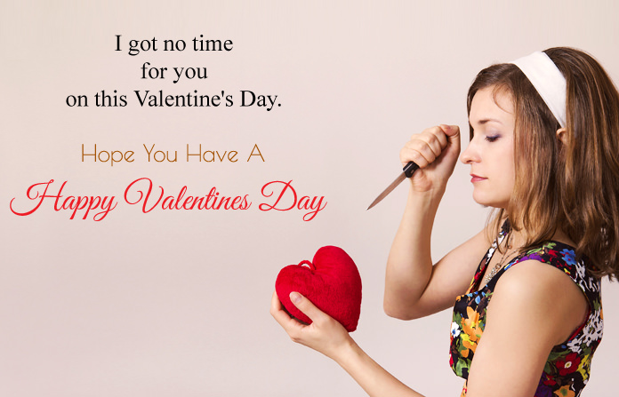 Anti No Valentine Quotes for Single
