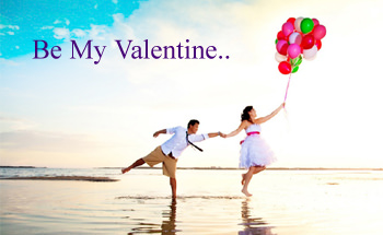 Girls & Boy Happy Valentine Day Hd Pic