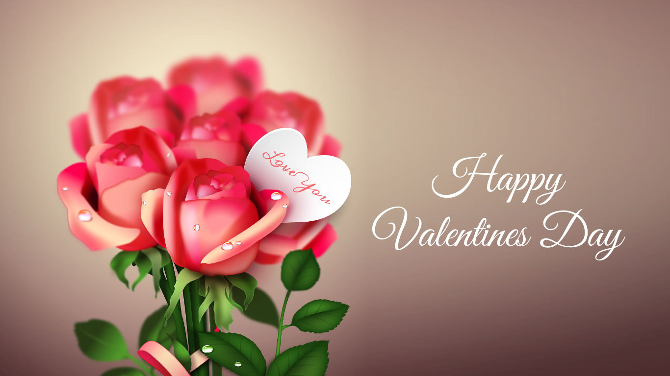 Beautiful Valentine HD Wallpaper