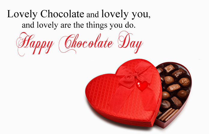Chocolate Day Status for Girlfriend