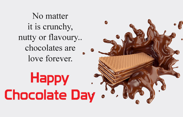 Happy Chocolate Day English Messages