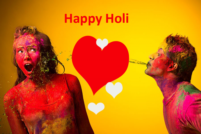 Happy Holi Images for Lovers