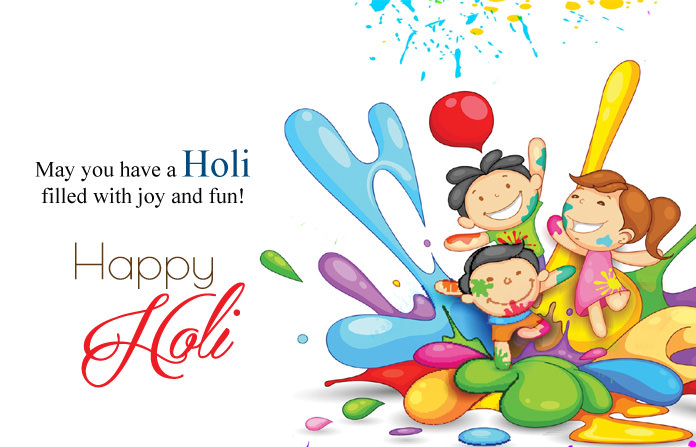 Happy Holi Images with Wishes