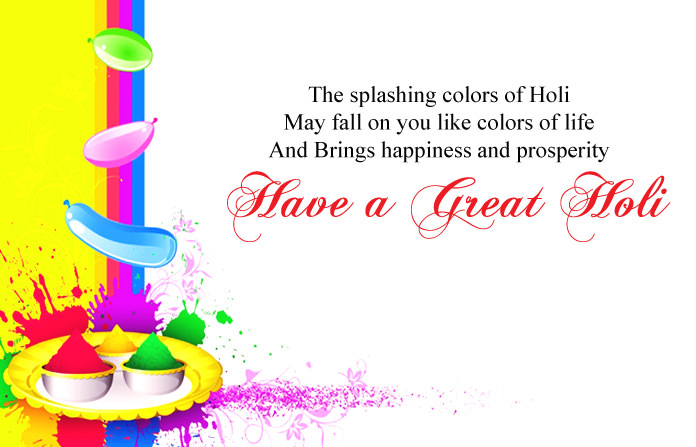 Happy Holi with Quotes