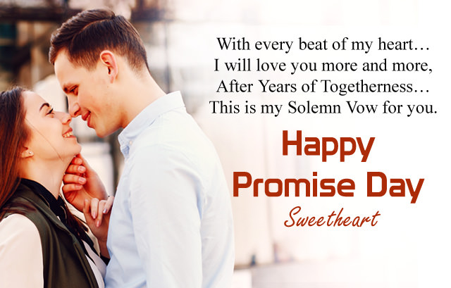 Happy Promise Day SweetHeart