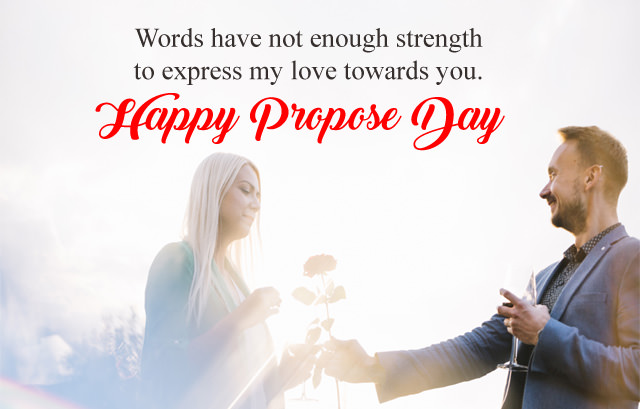 Happy Propose Day Images with Quotes