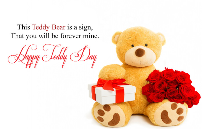 Happy Teddy Day Images in English