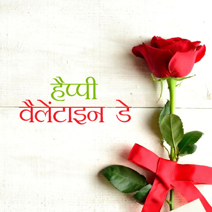 Happy Valentines Day DP in Hindi
