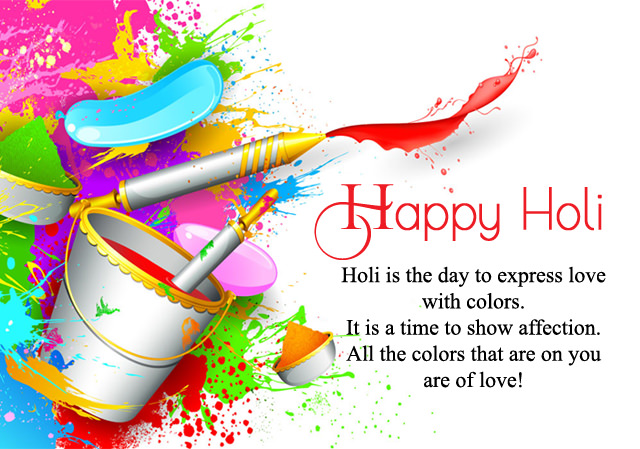 Happy Holi Quotes In English Short Inspirational Meaningful