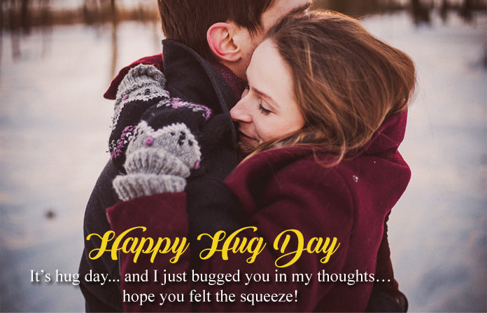 Hug Day Love Quotes for Lovers